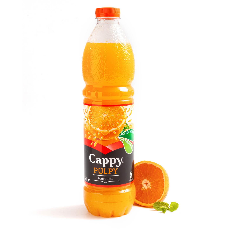 Băutură necarbogazoasă Cappy Pulpy 1.5L