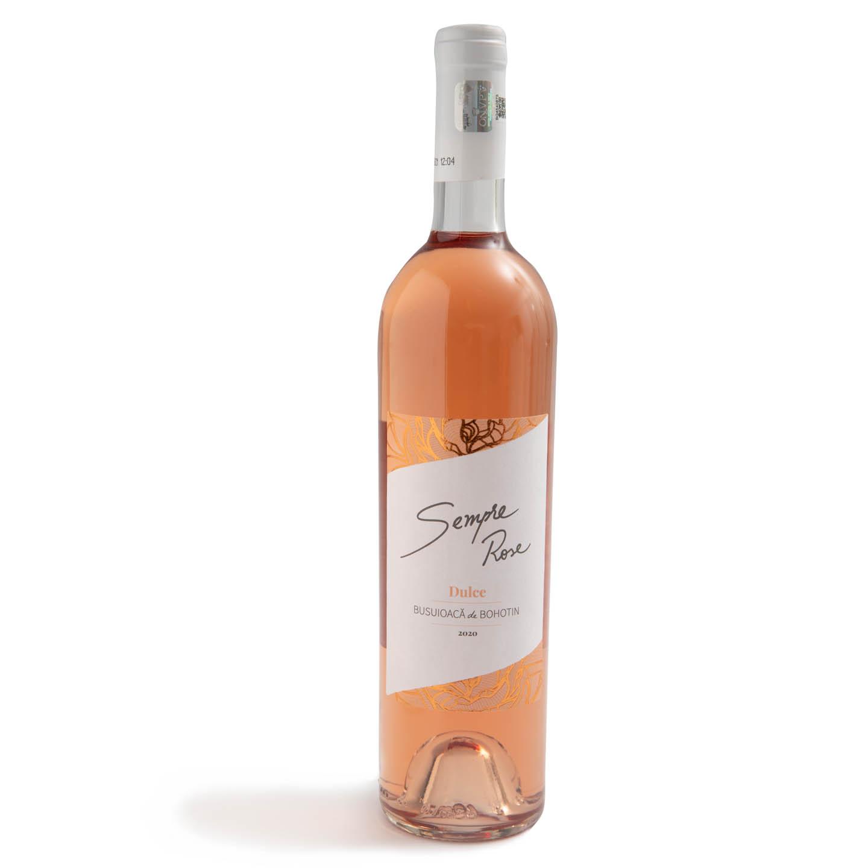Vin Busuioacă de Bohotin Sempre Rose 0.75L