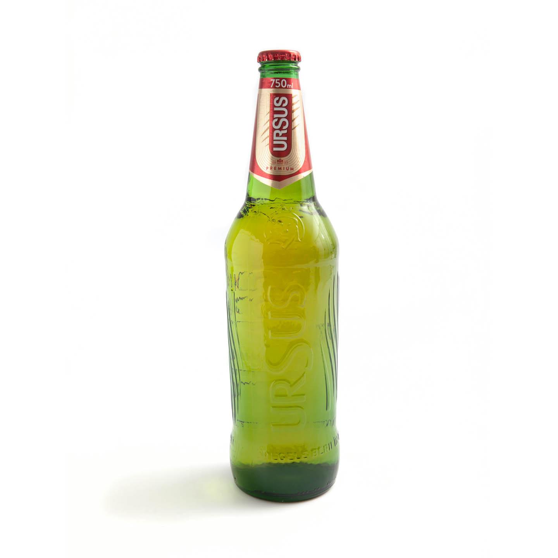 Bere blondă Ursus 0.75L