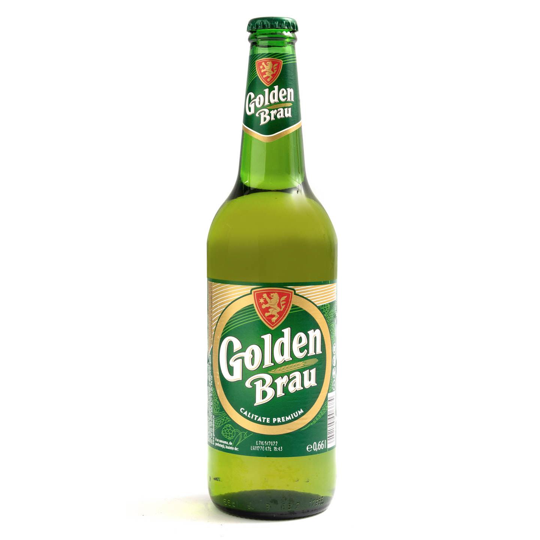 Bere blondă Golden Brau 0.66L