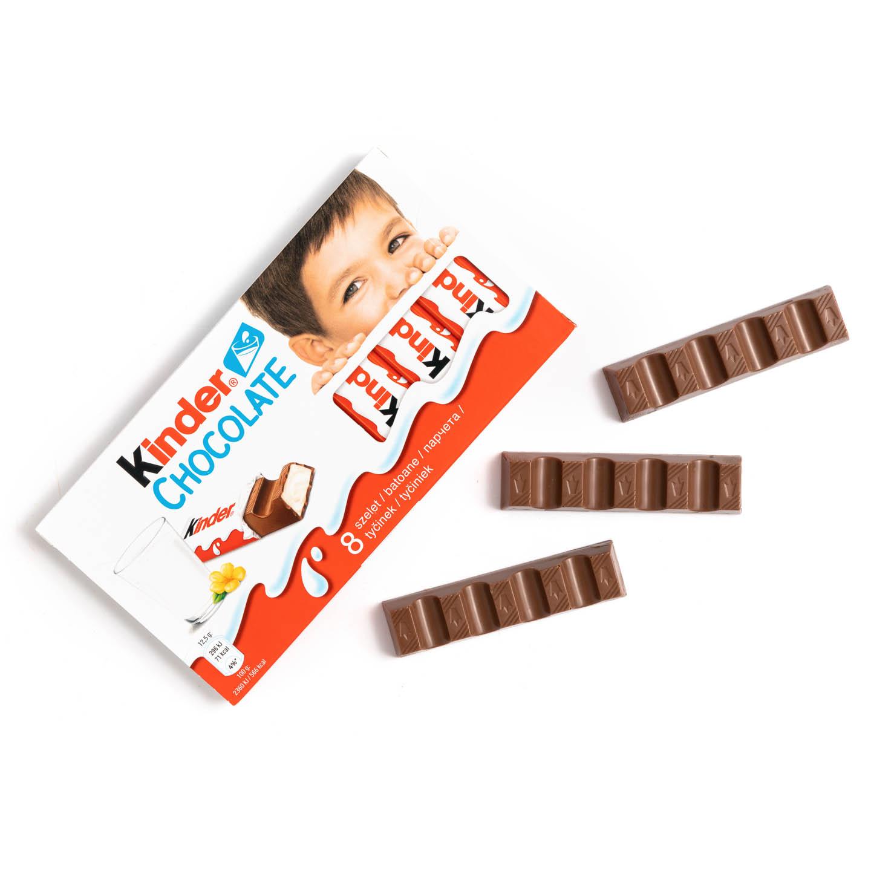 Batoane de ciocolată cu cremă de lapte Kinder 100g