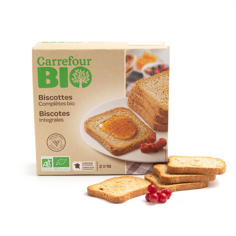Pâine prăjită Carrefour Bio 300g