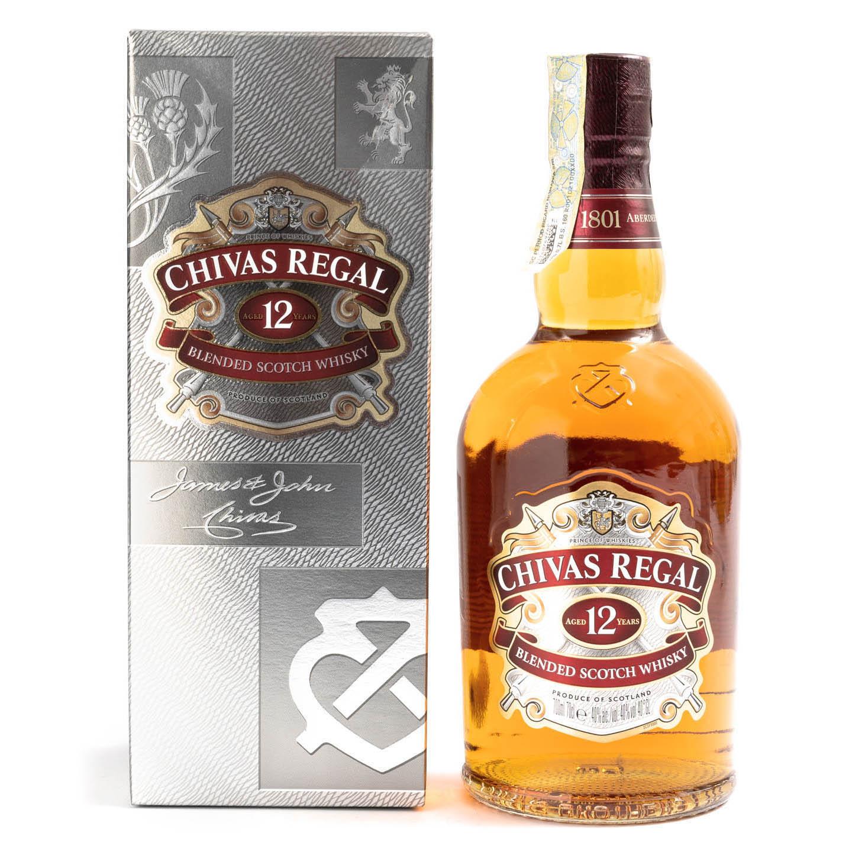 Whisky de 12 ani Chivas Regal 0.7L