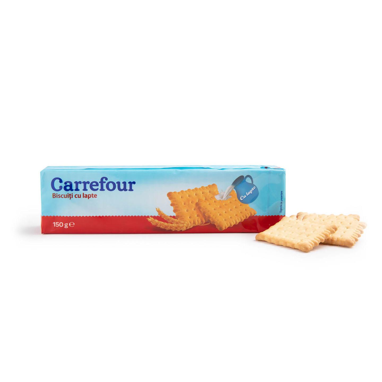 Biscuiți cu lapte Carrefour 150g