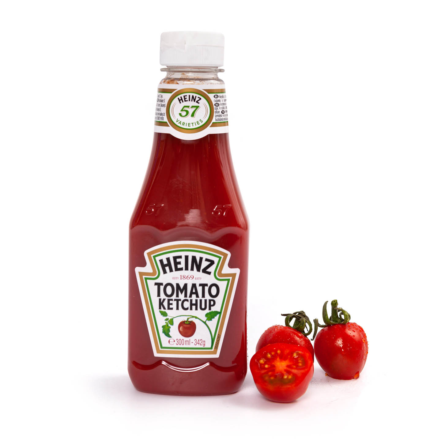 Ketchup dulce/ picant Heinz 342g