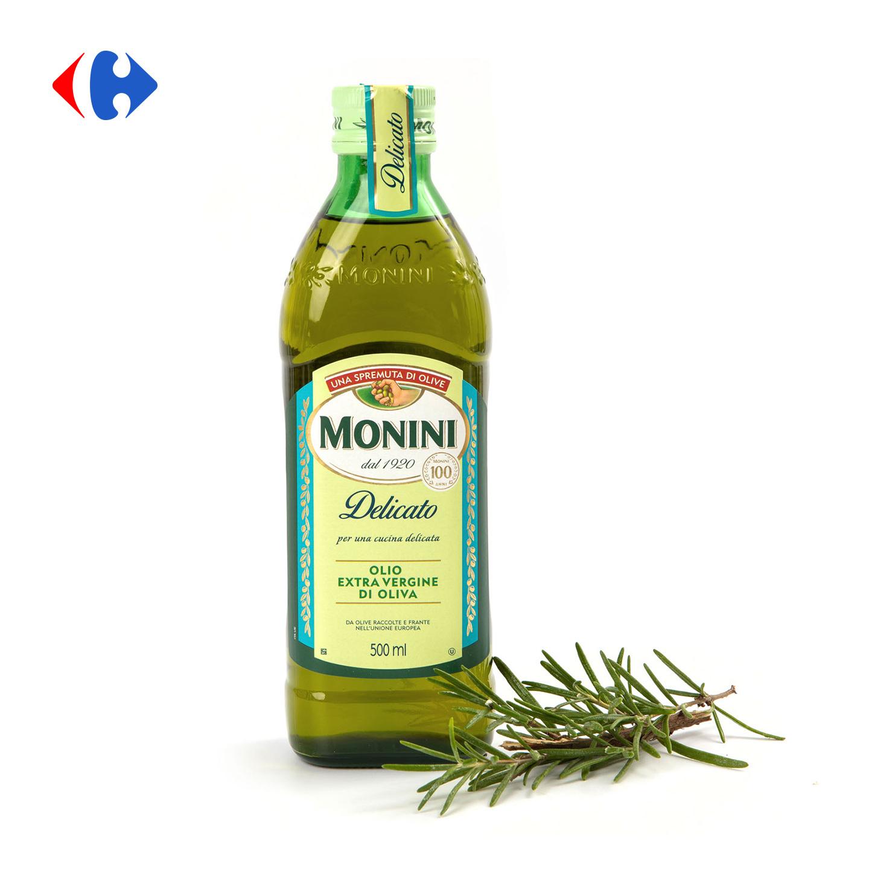 Ulei de măsline extra virgin Delicato Monini 0.5L