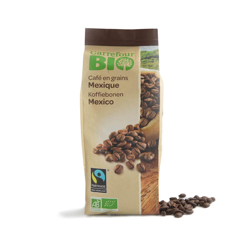 Cafea boabe Carrefour Bio 250g