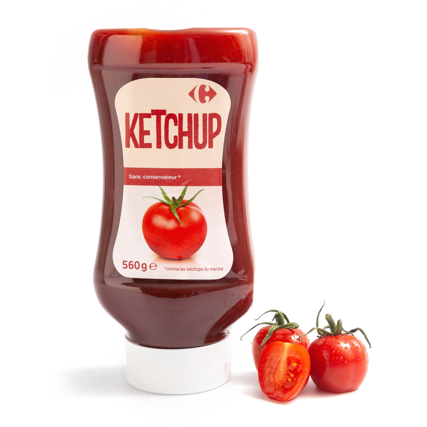 Ketchup Carrefour 560 g