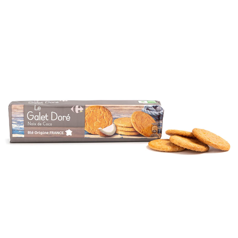 Biscuiți cu nucă de cocos Carrefour 125g