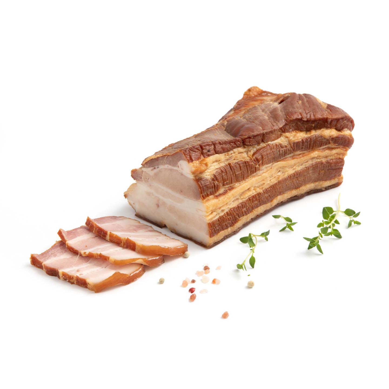 Piept de porc afumat per kg