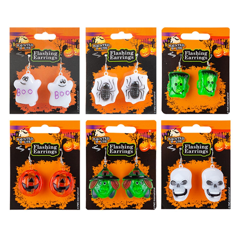 Cercei clipitori Halloween