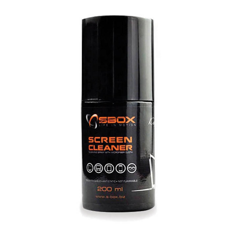 Soluție de curățare 200ml cu microfibră Sbox CS-02