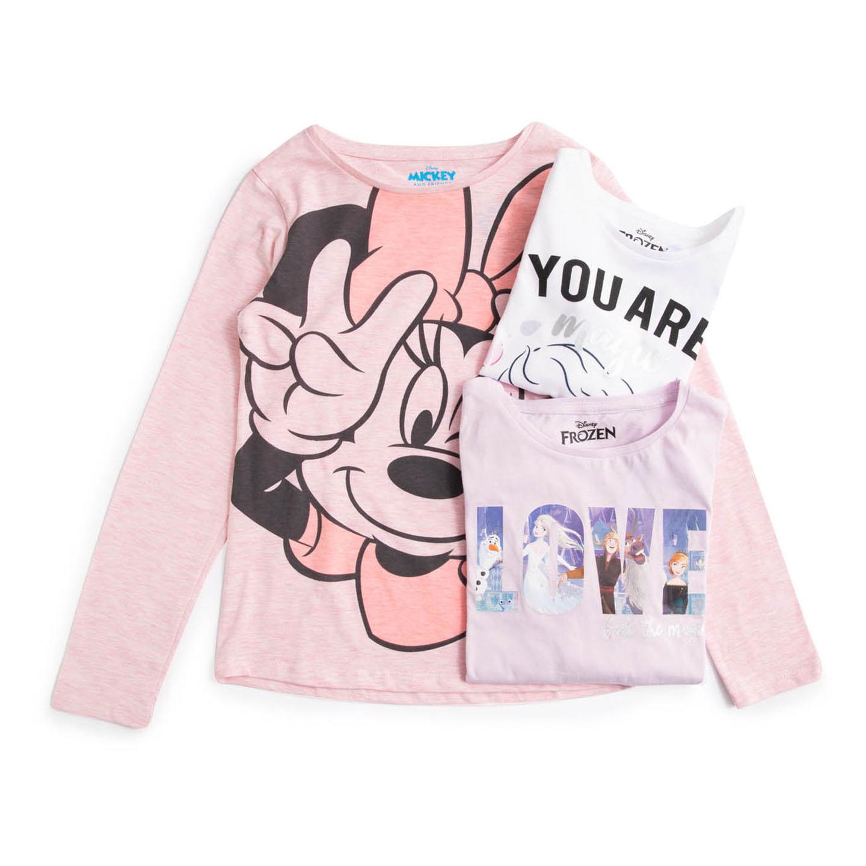 Tricou cu mânecă lungă pentru fete 3-8 ani Disney