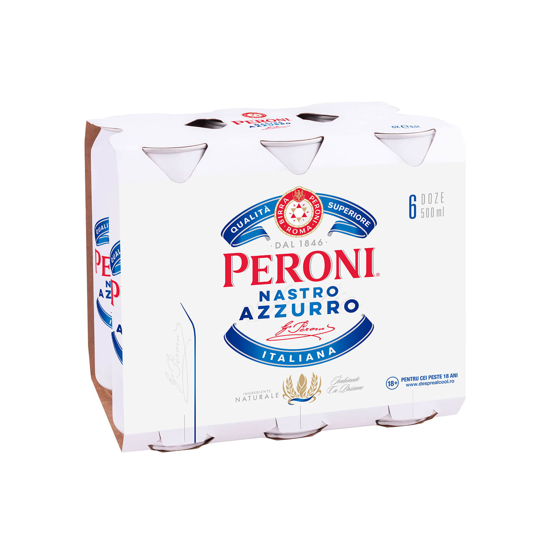 Bere Peroni Nastro Azzurro 6x0.5L
