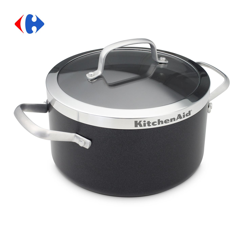 Cratiță cu capac KitchenAid 3.1L