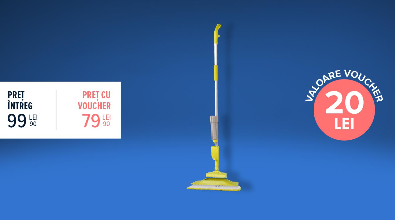 Spray Mop Plus 2 în 1, Rovus